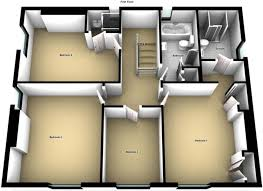 floor plan of the secret annex 5 bedroom detached house for sale in greythorpe church road