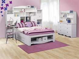 bedroom exciting teen girls bedroom design with white platform