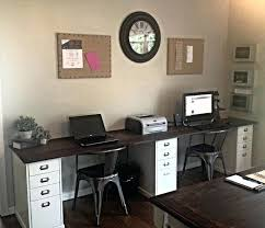 Home Office Furniture For Two Desk For 2 Computers Check Out The Most Popular Desks Two T