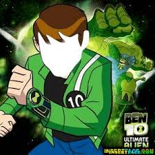 ben 10 cartoon insert face hole