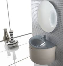 Unique Wall Mirrors by Simple Bathroom Vanity With Grey Sink Wooden Storage And Unique