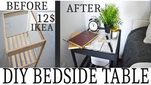 Diy Ikea Diy Ikea Bedside Table Youtube