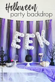 halloween party ideas 2017 diy halloween party decorations backdrop idea consumer crafts