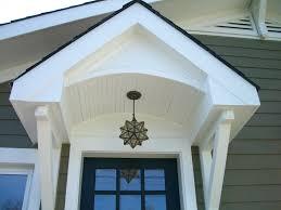 exterior door overhang gallery doors design ideas
