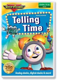 telling time dvd u2013 rock u0027n learn