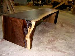 Walnut Slab Table by Live Edge Wood Slabs Tree Slices Wood Counter Tops