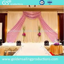 wedding backdrop to buy new products pipe and drape wedding backdrop stage backdrop for