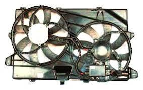 2009 ford flex fan amazon com tyc 622040 ford edge replacement radiator condenser