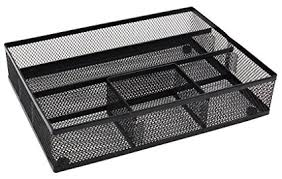 desk drawer organizer tray amazon com easypag mesh collection desk drawer organizer