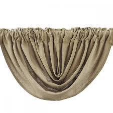 Burlap Window Valance Country Balloon Valance Curtains Natural Burlap 60