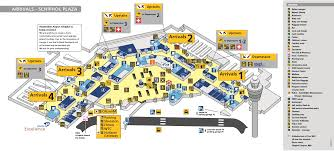 Airport Floor Plan by Amsterdam Airport Schiphol Thingstodoinamsterdam Com