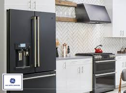 white kitchen cabinets with black slate appliances black slate appliances with white cabinets page 1 line