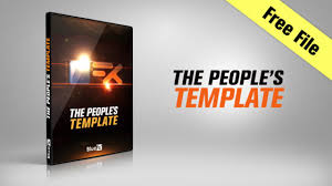 free after affects intro u0026 logo template the people u0027s template