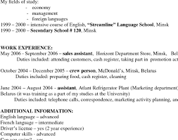 unforgettable host hostess resume examples to stand out