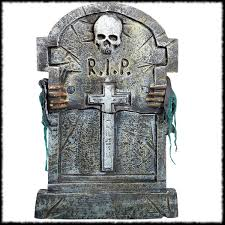 tombstone decorations and cemetery party ideas for page 3