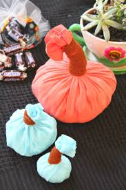 how to make a pumpkin home decor out of old t shirts