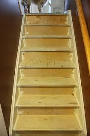 convert your stairs from carpet to wood by making you own stair