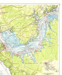 cumberland lake map navigation chart cumberland river lake barkley maps maps