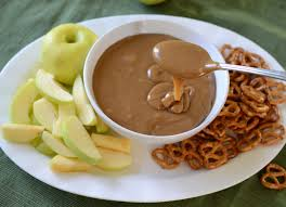 dips for thanksgiving the best caramel dip bless this mess