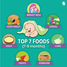 table food for 9 month old hello dr gorika i am mother of 7 month old baby boy please share