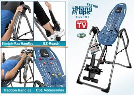 inversion bed teeter hang ups ep960 inversion table ep 960