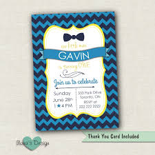 First Birthday Invitation Cards For Boys Bow Tie Birthday Invite Little Man Birthday Invite Little