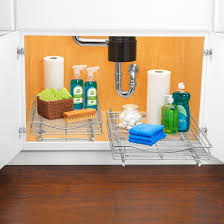 lynk professional pull out cabinet organizer sliding shelf 14