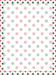 polka dot stationery christmas polka dot stationery printable treats