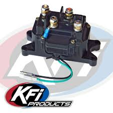 replacement winch contactor kfi atv winch mounts and accessories
