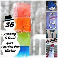 35 cuddly and cool kids u0027 crafts for winter allfreekidscrafts com