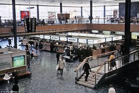 Heathrow Terminal 3 Information Desk Heathrow Airport London Celebrates 70 Years With Nostalgic