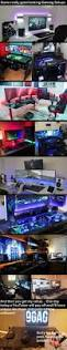 30 Coolest And Inspiring Multi Monitor Gaming Setups by A Few Amazing Gaming Setups Nsfw For Gamers Gaming Gaming