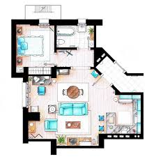 seinfeld apartment floor plan 10 of our favorite tv shows home apartment floor plans