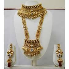 gold bridal sets high gold bridal sets at rs 1500 set borivali west mumbai
