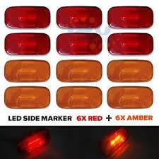 led side marker lights led trailer side marker lights ebay