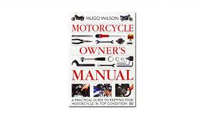 motorcycle owner u0027s manual