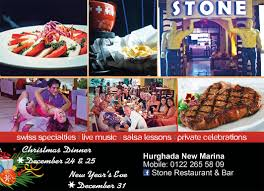 stone restaurant u0026 bar is located at hurghada marina the modern