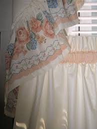 Ruffled Kitchen Curtains Decorate For Less Quality Custom Made Home Décor Items At An