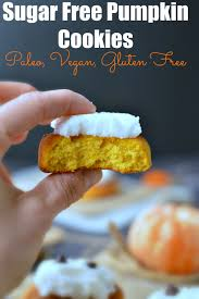 sugar free pumpkin cookies recipe pumpkins halloween cookies