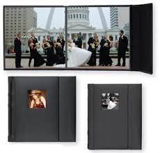 professional wedding photo albums tap valencia 10x10 library bound black simulated leather