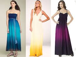 ombre maxi dress luxe vs less the ombre maxi dress the budget affordable