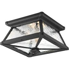 Ceiling Light Outdoor Flush Mount Lights Outdoor Ceiling Lighting The Home Depot