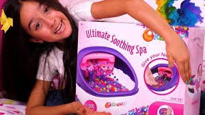 character cool orbeez ultimate soothing spa toy unboxing