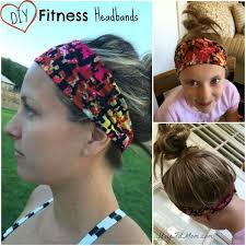yoga headband tutorial diy fitness headband tutorial stay fit mom