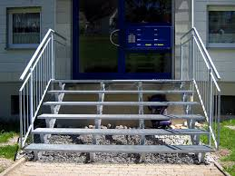 treppen gitterroste treppen wittmer metallbau