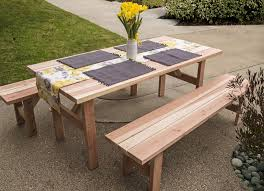 Picnic Table With Benches Plans Picnic Table With Benches Hashtag Digitals