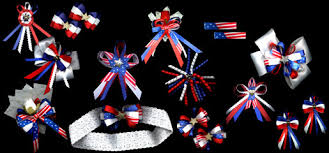 fourth of july hair bows babybows july 4th hair bows
