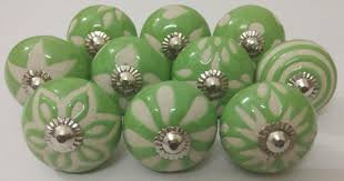 green color ceramic knobs vintage ceramic door knobs kitchen