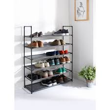 Shoe Rack by Spaceways 6 Tier Shoe Rack Furniture Shoe Storage B M