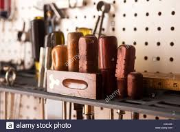 screwdriver set and tools with pegboard vintage wooden tools